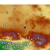 Nearby Forecast Locations - Apple Valley - Χάρτης