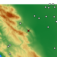 Nearby Forecast Locations - Avenal - Χάρτης