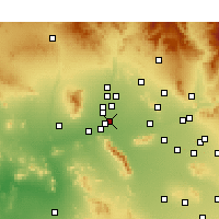 Nearby Forecast Locations - Avondale - Χάρτης