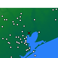 Nearby Forecast Locations - Baytown - Χάρτης