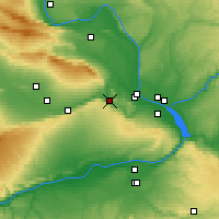 Nearby Forecast Locations - Benton City - Χάρτης