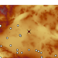 Nearby Forecast Locations - Boron - Χάρτης