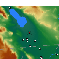 Nearby Forecast Locations - Brawley - Χάρτης