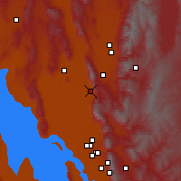 Nearby Forecast Locations - Brigham City - Χάρτης