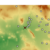 Nearby Forecast Locations - Buckeye - Χάρτης