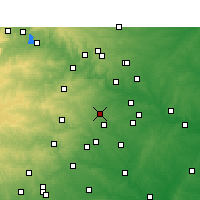 Nearby Forecast Locations - Buda - Χάρτης