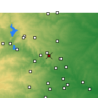 Nearby Forecast Locations - Cedar Park - Χάρτης