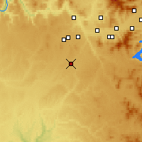 Nearby Forecast Locations - Cheney - Χάρτης