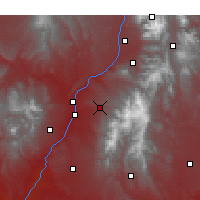Nearby Forecast Locations - Chimayo - Χάρτης