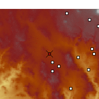 Nearby Forecast Locations - Chino Valley - Χάρτης