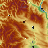 Nearby Forecast Locations - Cle Elum - Χάρτης
