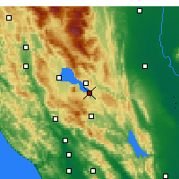 Nearby Forecast Locations - Clearlake - Χάρτης
