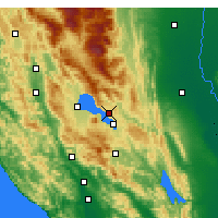 Nearby Forecast Locations - Clearlake Oaks - Χάρτης