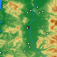 Nearby Forecast Locations - Corvallis - Χάρτης