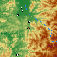 Nearby Forecast Locations - Cottage Grove - Χάρτης