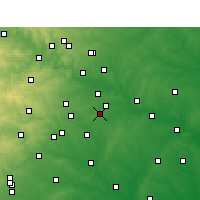 Nearby Forecast Locations - Dale - Χάρτης