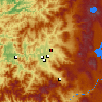 Nearby Forecast Locations - Eagle Point - Χάρτης