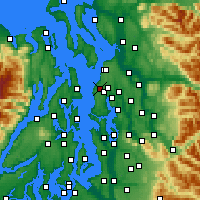 Nearby Forecast Locations - Edmonds - Χάρτης