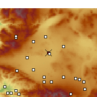 Nearby Forecast Locations - Edwards - Χάρτης