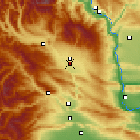Nearby Forecast Locations - Ellensburg - Χάρτης