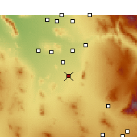 Nearby Forecast Locations - Eloy - Χάρτης