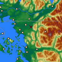 Nearby Forecast Locations - Everson - Χάρτης