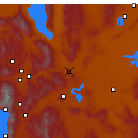 Nearby Forecast Locations - Fernley - Χάρτης