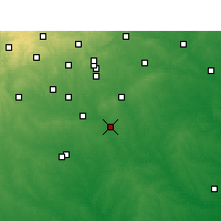 Nearby Forecast Locations - Floresville - Χάρτης