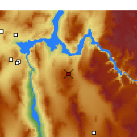 Nearby Forecast Locations - Golden Valley - Χάρτης