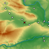Nearby Forecast Locations - Grandview - Χάρτης