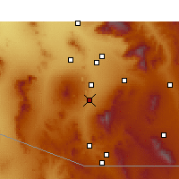 Nearby Forecast Locations - Green Valley - Χάρτης