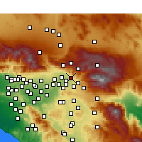 Nearby Forecast Locations - Highland - Χάρτης