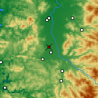 Nearby Forecast Locations - Junction City - Χάρτης