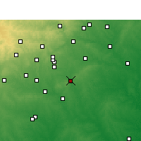 Nearby Forecast Locations - La Vernia - Χάρτης