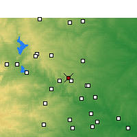 Nearby Forecast Locations - Leander - Χάρτης
