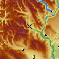 Nearby Forecast Locations - Leavenworth - Χάρτης