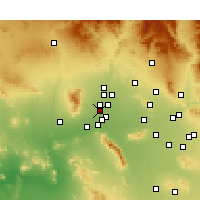 Nearby Forecast Locations - Litchfield Park - Χάρτης