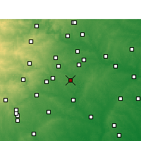 Nearby Forecast Locations - Lockhart - Χάρτης