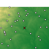 Nearby Forecast Locations - Luling - Χάρτης