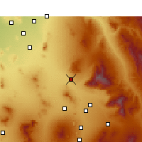 Nearby Forecast Locations - Marana - Χάρτης