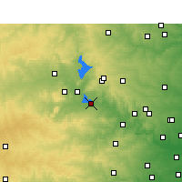 Nearby Forecast Locations - Marble Falls - Χάρτης