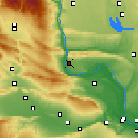 Nearby Forecast Locations - Mattawa - Χάρτης