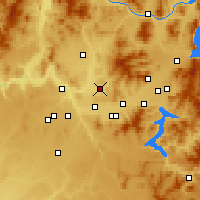 Nearby Forecast Locations - Mead - Χάρτης