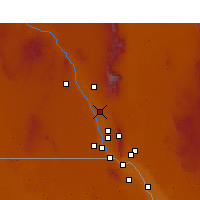 Nearby Forecast Locations - Mesquite - Χάρτης