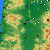 Nearby Forecast Locations - Monmouth - Χάρτης