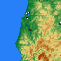 Nearby Forecast Locations - Myrtle Point - Χάρτης