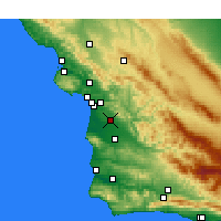 Nearby Forecast Locations - Nipomo - ������