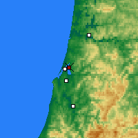 Nearby Forecast Locations - North Bend - Χάρτης