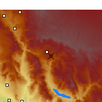 Nearby Forecast Locations - Payson - Χάρτης