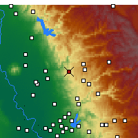 Nearby Forecast Locations - Penn Valley - Χάρτης